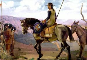Dragón de Cuera rn una ilustración del libro Banderas lejanas.