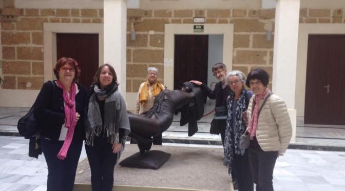 Encuentro entre Asociación amigos del Museo de Brest y el de Cádiz.